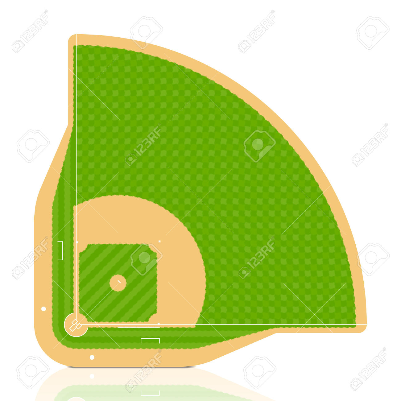 Baseball Field Diagram Baseball Diamond Diagram Clipart Free Download Best Baseball