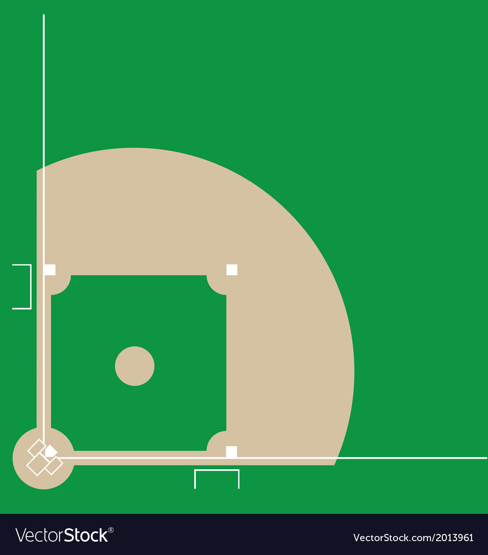 Baseball Field Diagram Baseball Diamond