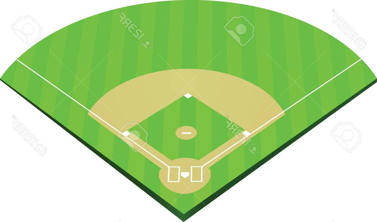 Baseball Field Diagram Top Baseball Field Layout And Positions Vector Pictures Free