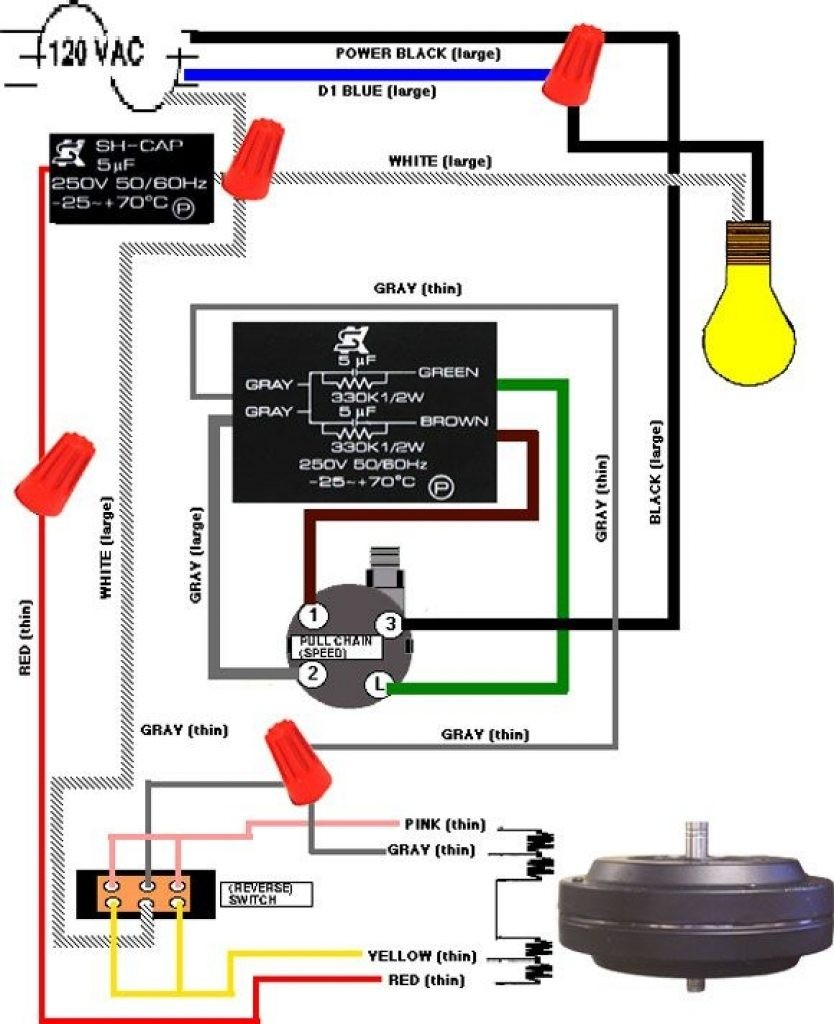 Ceiling Fan Wiring Diagram Gray Ceiling Fan Wiring Colors Wiring Diagram Review