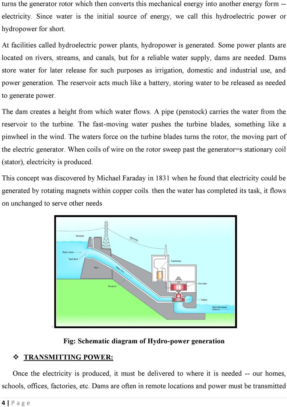 Coal Power Plant Diagram Hydroelectric Power Plant Schematic Diagram Wiring Library