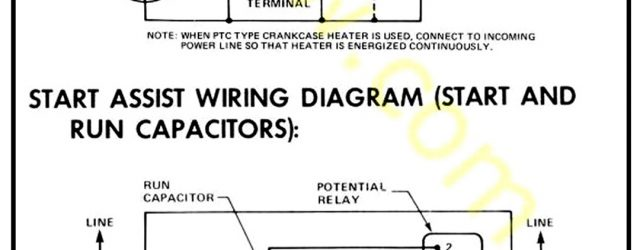 Compressor Wiring Diagram Air Conditioner Compressor Wiring General Spud Cannon Related