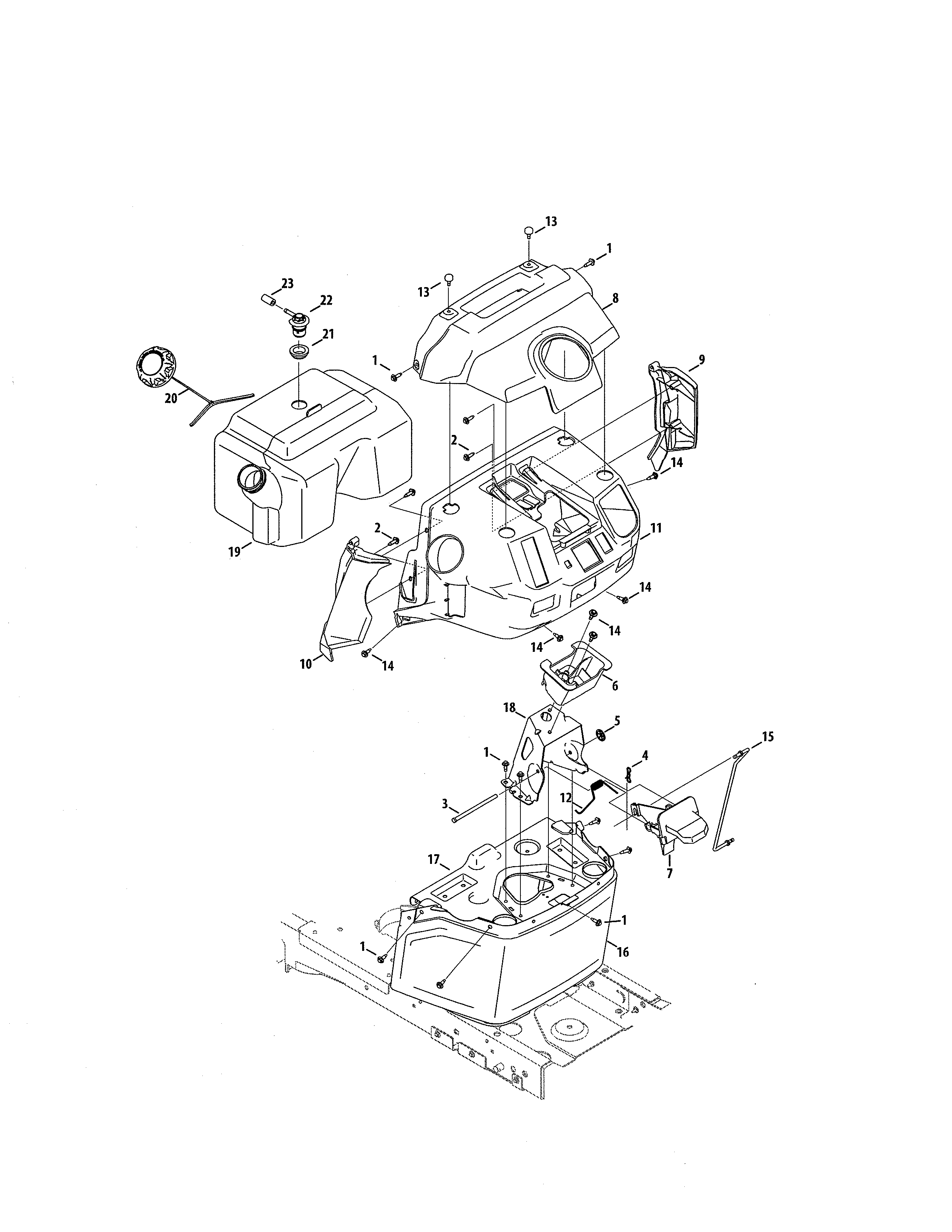 Craftsman Hydrostatic Transmission Diagram Looking For Craftsman Model 247204420 Front Engine Lawn Tractor
