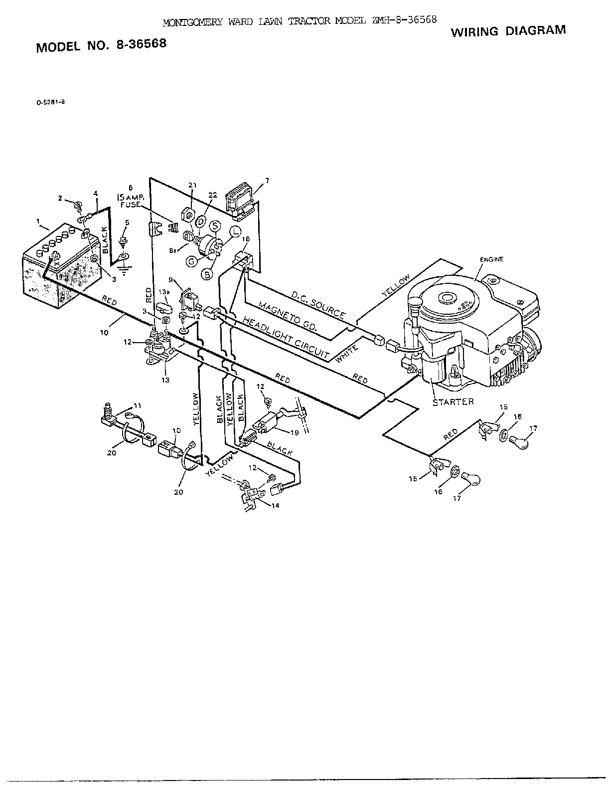 Craftsman Riding Mower Parts Diagram Murray Lawn Tractor Wiring Wiring Diagram Directory