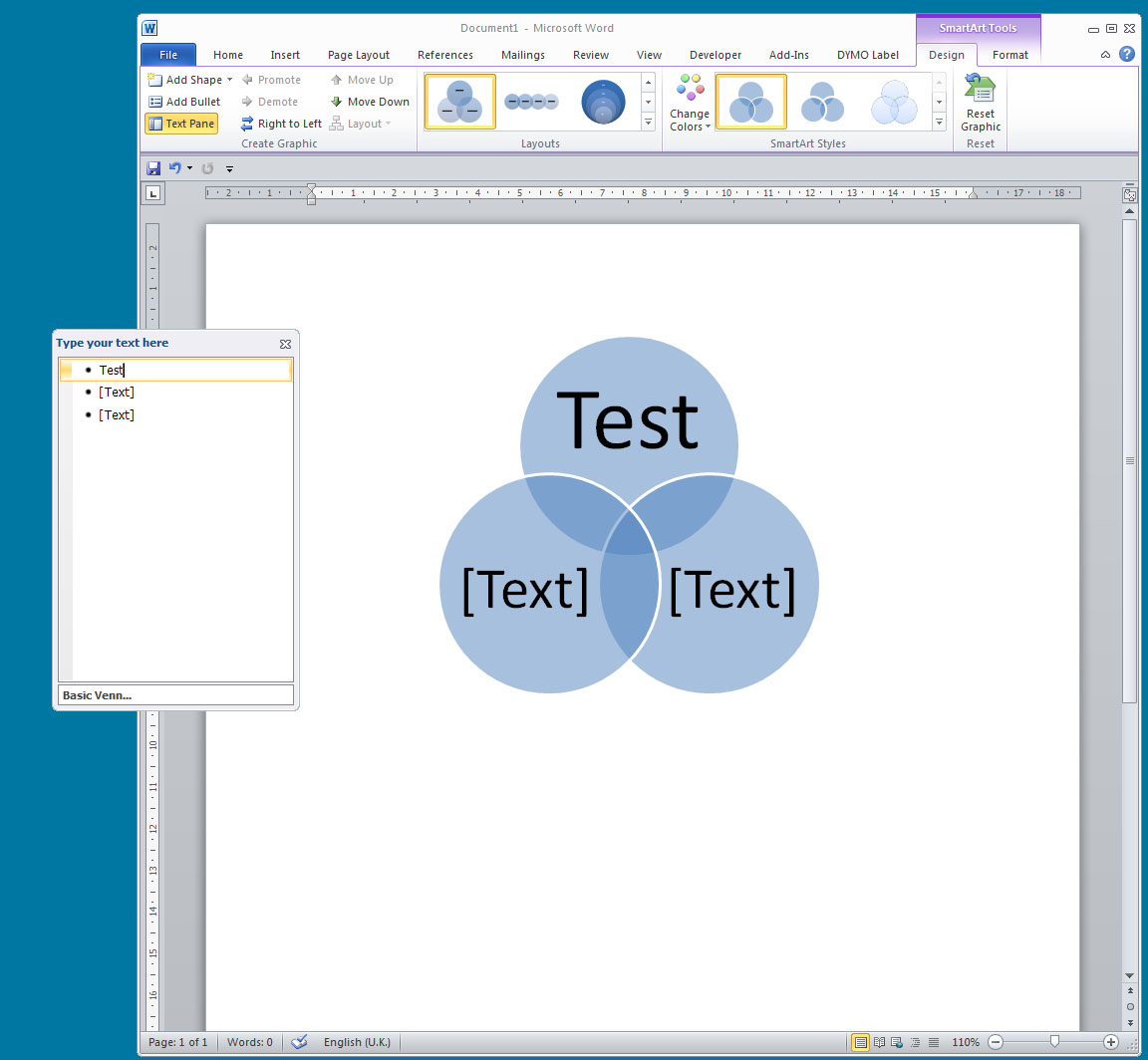 How To Make A Venn Diagram On Word Add Text To Overlap Julia Jacobs
