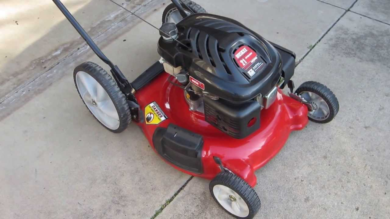 Huskee Lawn Mower Parts Diagram