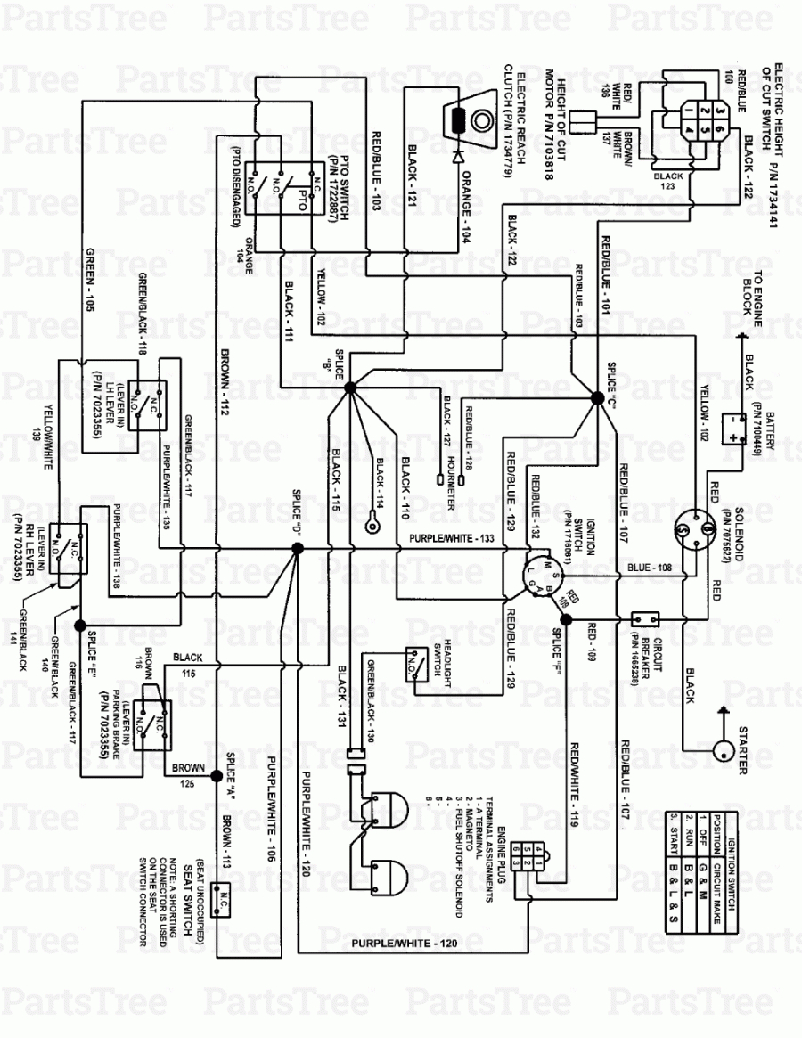 Huskee Lawn Mower Parts Diagram Huskee Inch Mower Coil Parts Manual Starter Murray Magneto Wiring