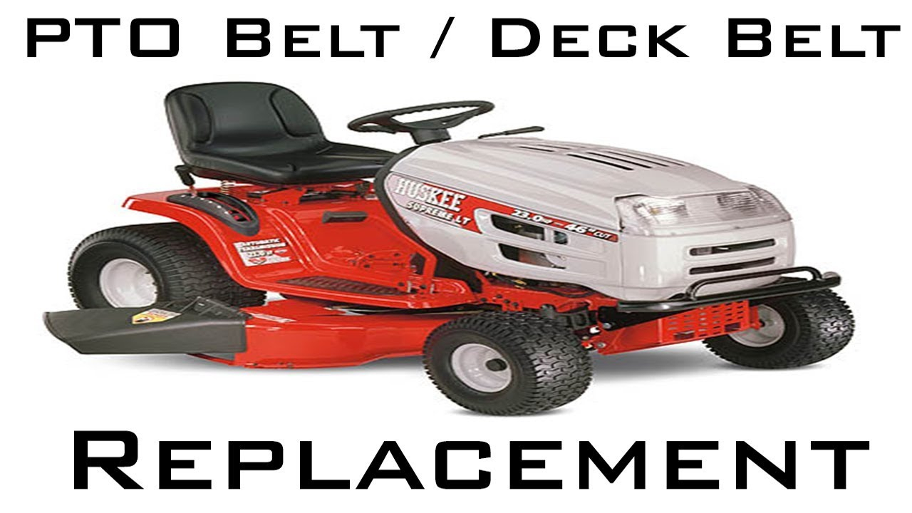 Huskee Lawn Mower Parts Diagram Mtdhuskee Mower Ptodeck Belt Replacement