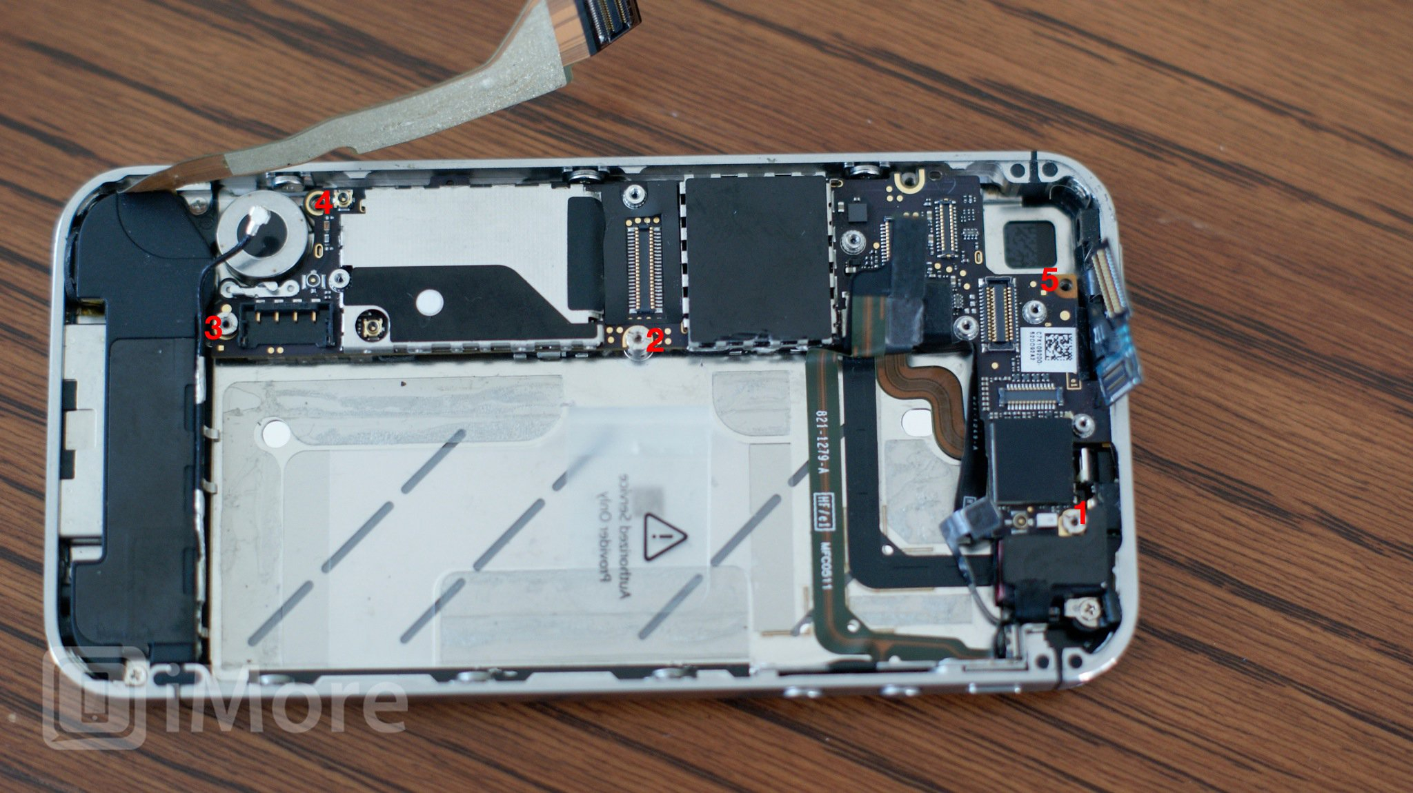 Iphone 5S Parts Diagram How To Replace A Broken Iphone 4 Cdma Screen Imore