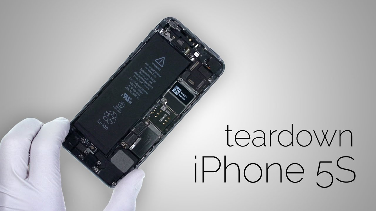 Iphone 5S Parts Diagram Iphone 5s Teardown Step Step Complete Disassembly Directions