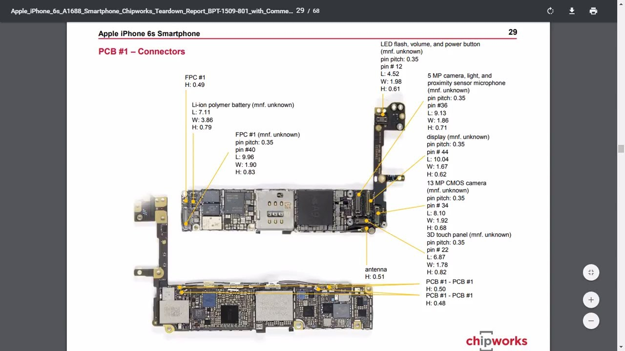 Iphone 5S Parts Diagram Iphone 6s Diagram Of Parts Wiring Diagram Library