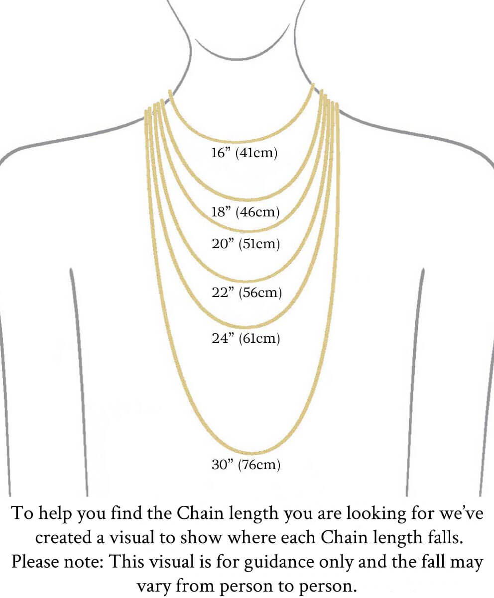 Necklace Length Diagram Ladies Sterling Silver 17 Tassel Y Chain Necklace