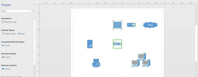 Network Diagram Visio How To Create A Basic Network Diagram In Visio 2016