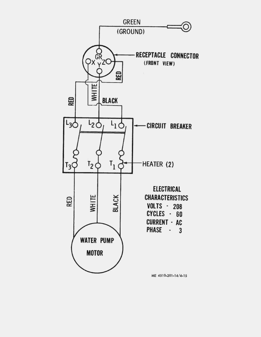 Well Pump Control Box Wiring Diagram 4 Wire Water Pump Wiring Wiring Diagram Project
