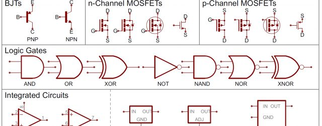 Wiring Diagram Symbols How To Read A Schematic Learnsparkfun