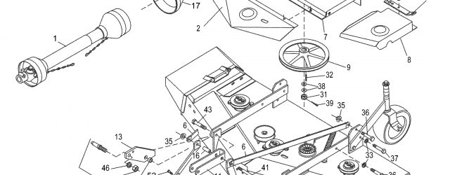 Woods Mower Parts Diagrams Woods Rm660 2 Rearmount Finish Mower Mounting Assembly Parts And Diagram