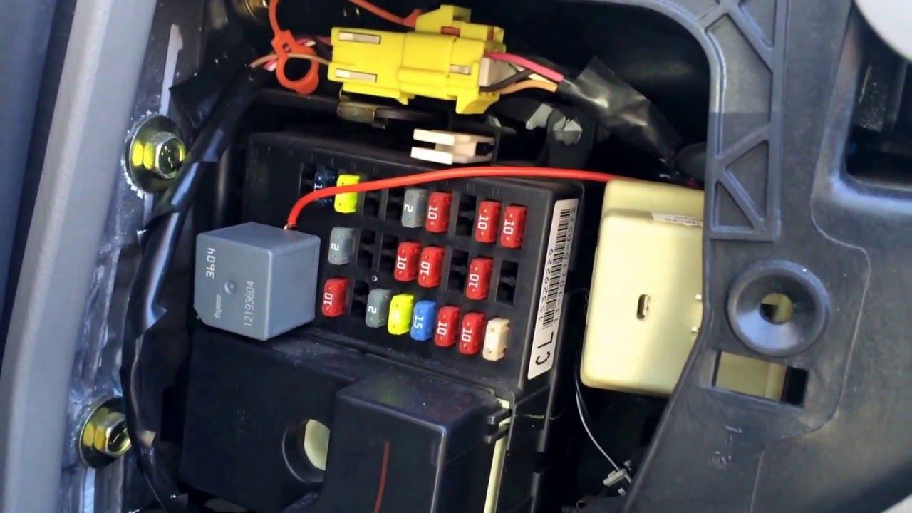 2005 Jeep Grand Cherokee Fuse Diagram Fuse Box Locate Wiring Diagram Speed