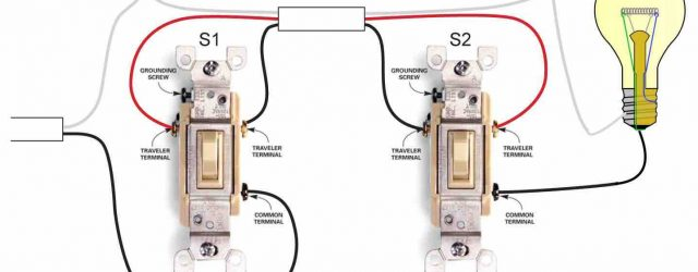 3 Way Switch Diagram Video On How To Wire A Three Way Switch