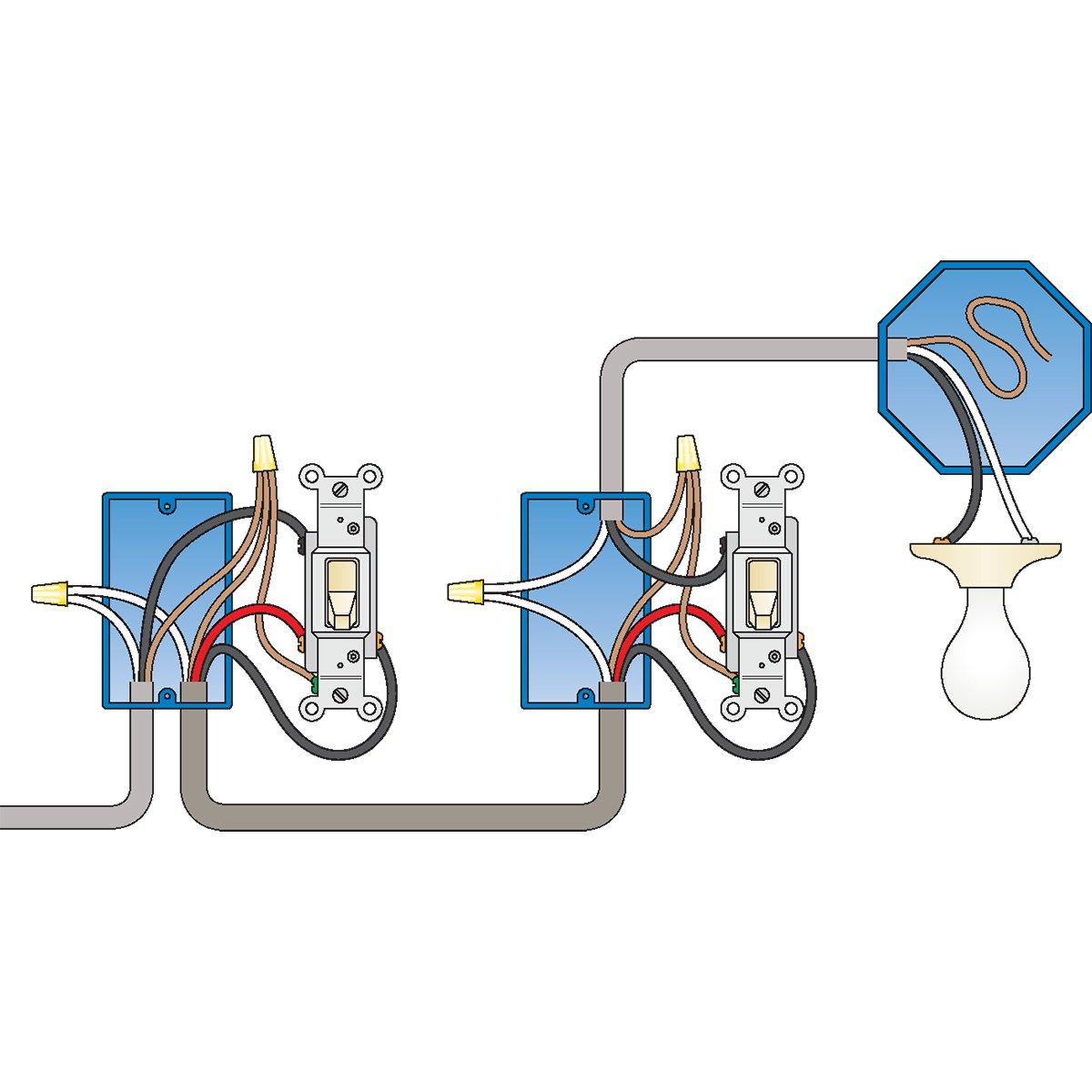 3 Way Wiring Diagram 3 Way Home Wiring Wiring Diagram Directory