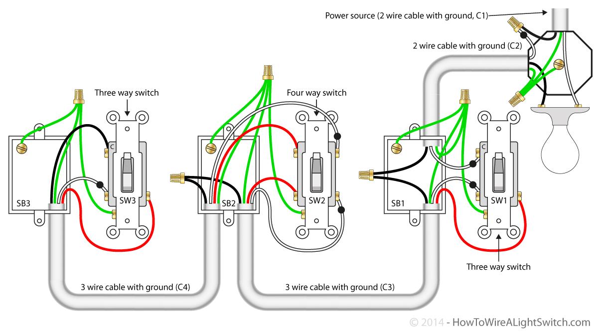 3 Way Wiring Diagram 3 Way Switch Wiring Travelers Wiring Diagram Article