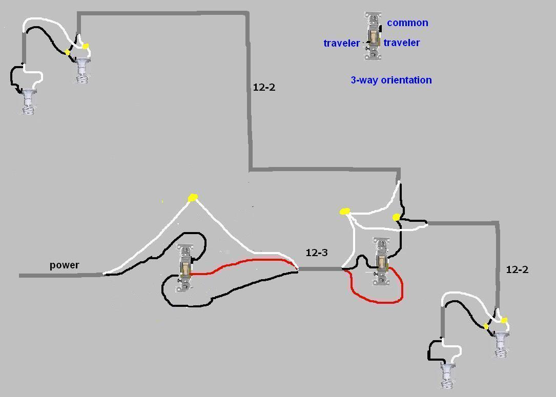 3 Way Wiring Diagram 6 Way Wiring Diagram Leviton Light Switch Wiring Diagrams Home