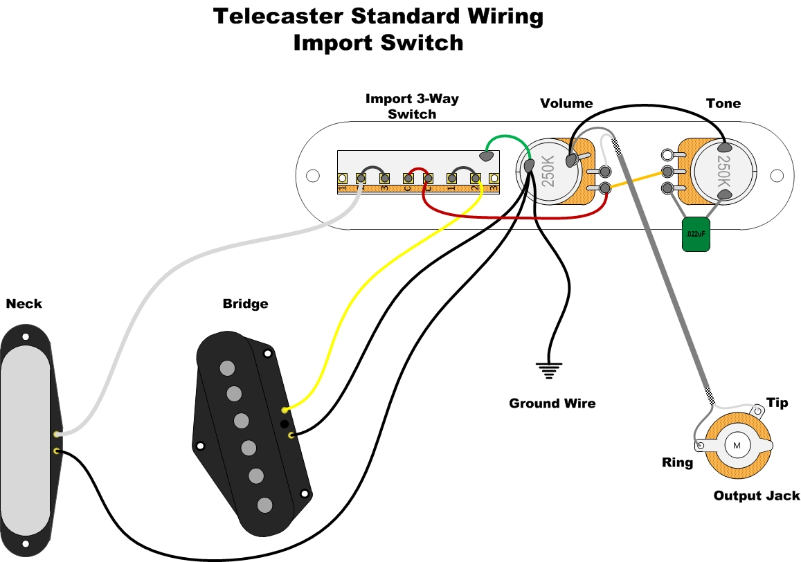 3 Way Wiring Diagram Way Switch Diagram Related Keywords Suggestions Tele 3way Switch