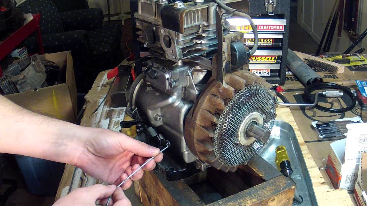 5Hp Briggs And Stratton Carburetor Diagram Briggs And Stratton 5hp Carburetor Linkage Setup 130212