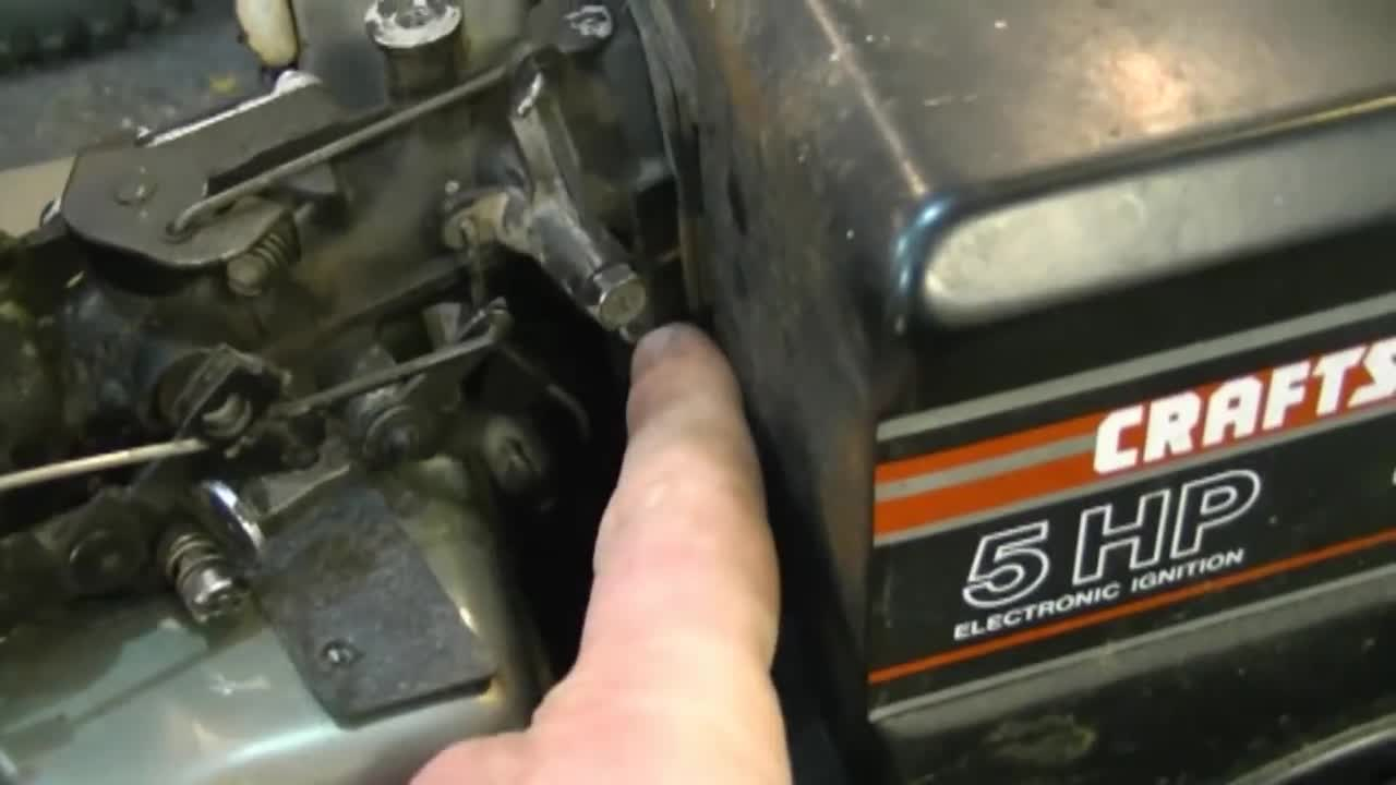 5Hp Briggs And Stratton Carburetor Diagram Choke Throttle Governor Linkage Configuration On Briggs