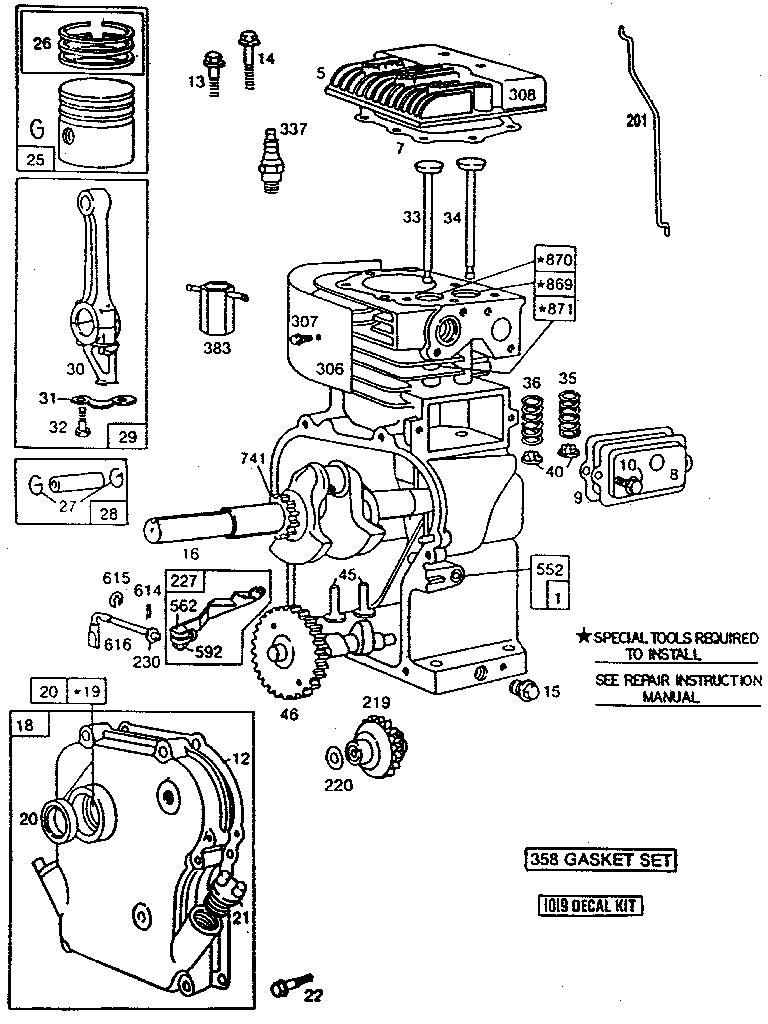 5Hp Briggs And Stratton Carburetor Diagram Looking For Briggs Stratton Model 130212 3112 01 Lawn Garden