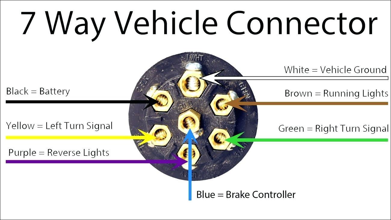 7 Pin Trailer Plug Wiring Diagram 7 Pin Round Trailer Wiring Diagram Free Picture Wiring Diagram Local