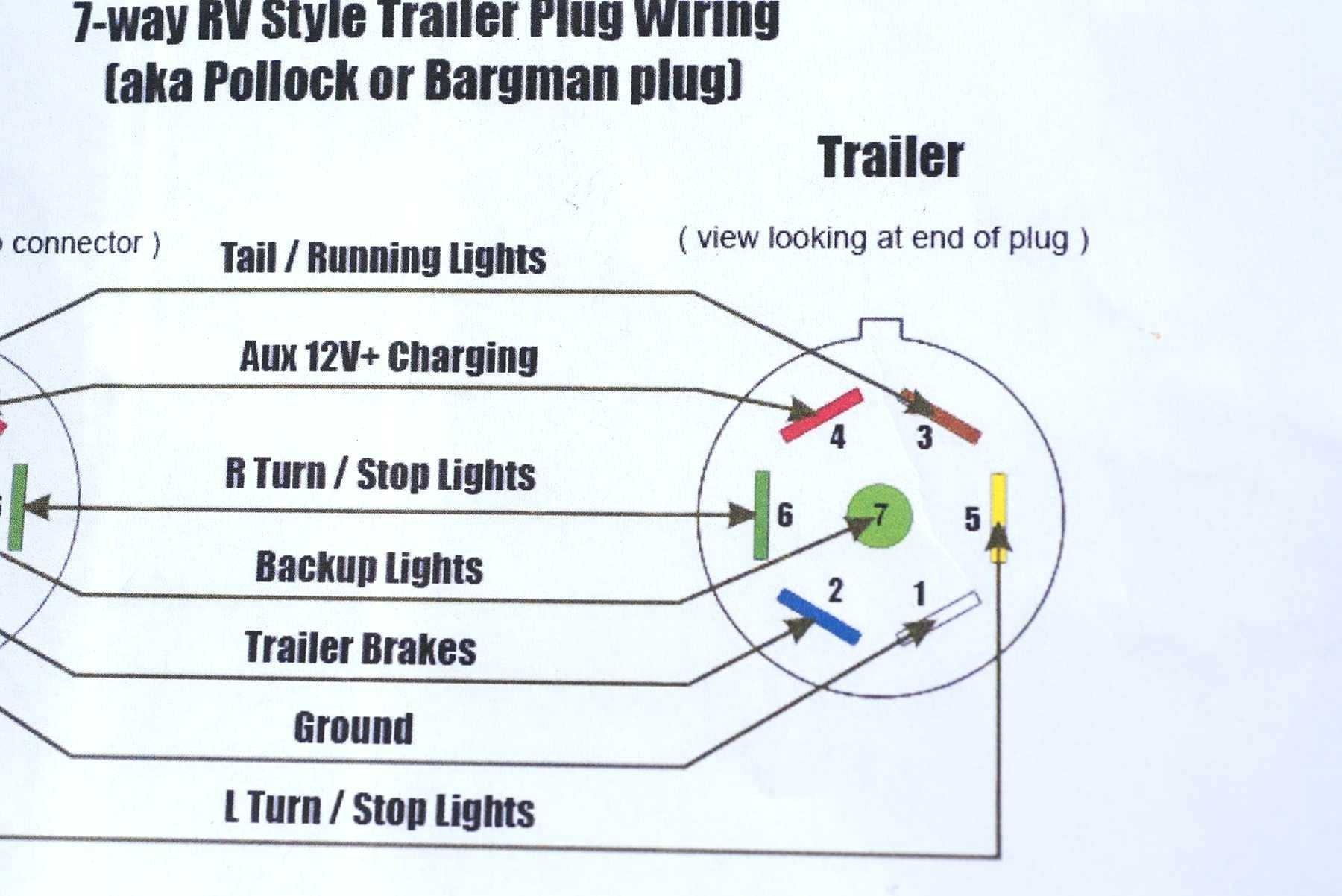 7 Pin Trailer Plug Wiring Diagram 7 Pin Trailer Plug Wiring Diagram For Ford Wiring Diagram Review
