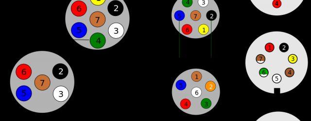 7 Pin Trailer Wiring Diagram Trailer Connectors In Australia Wikipedia