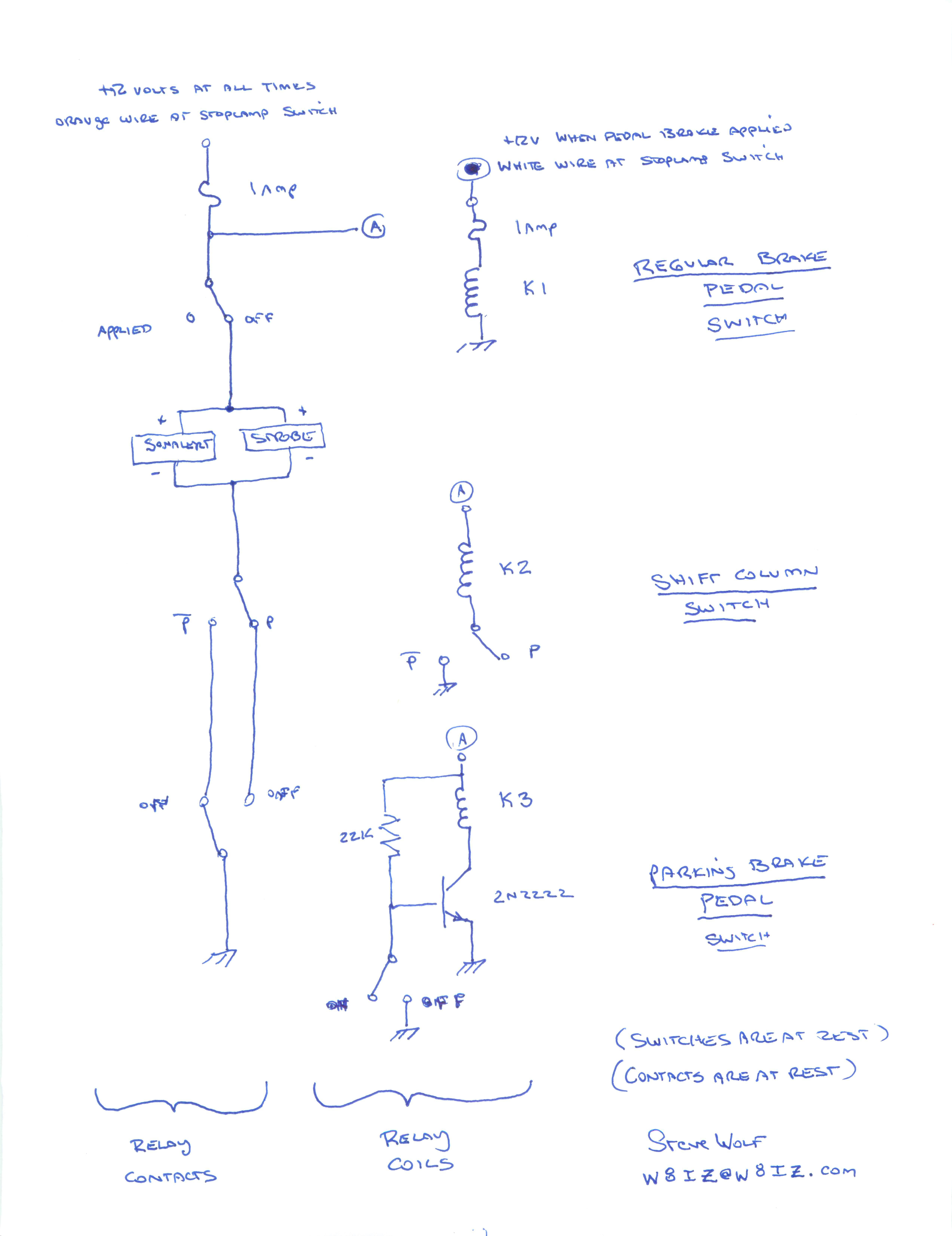 Air Brake Foot Valve Diagram Autopark Block Diagram For The Version Iii Autopark System Again The