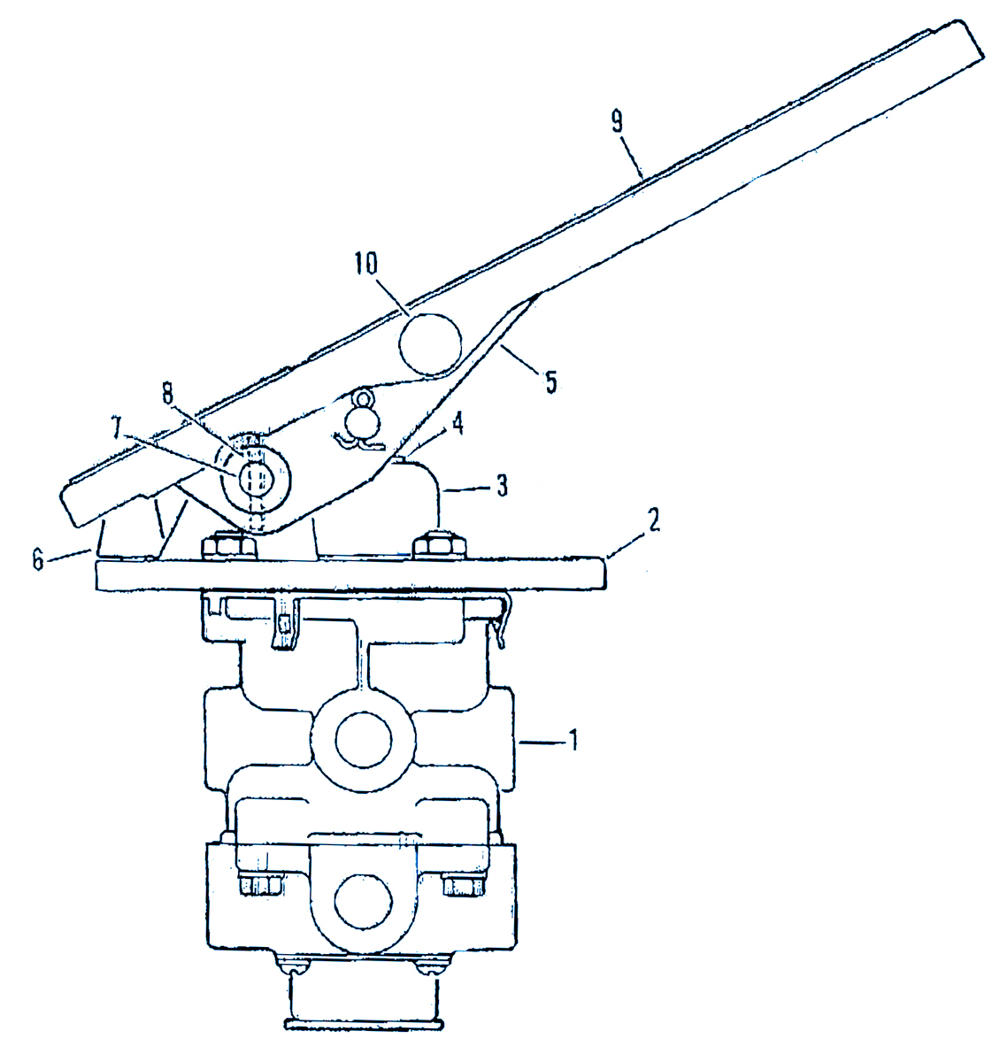 Air Brake Foot Valve Diagram Understanding The Treadle Valve And The Dangers It Can Cause Air