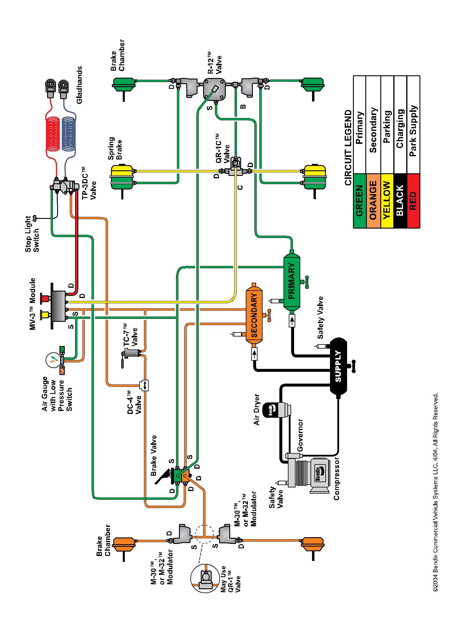 Air Brake Foot Valve Diagram Viewing A Thread Semi Air Brake Pedal Valve Problem