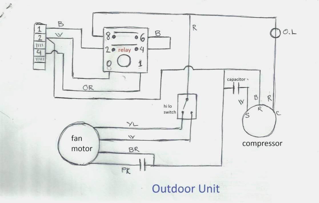 Air Conditioner Wiring Diagram Pdf Air Conditioner Wiring Diagram Today Diagram Database