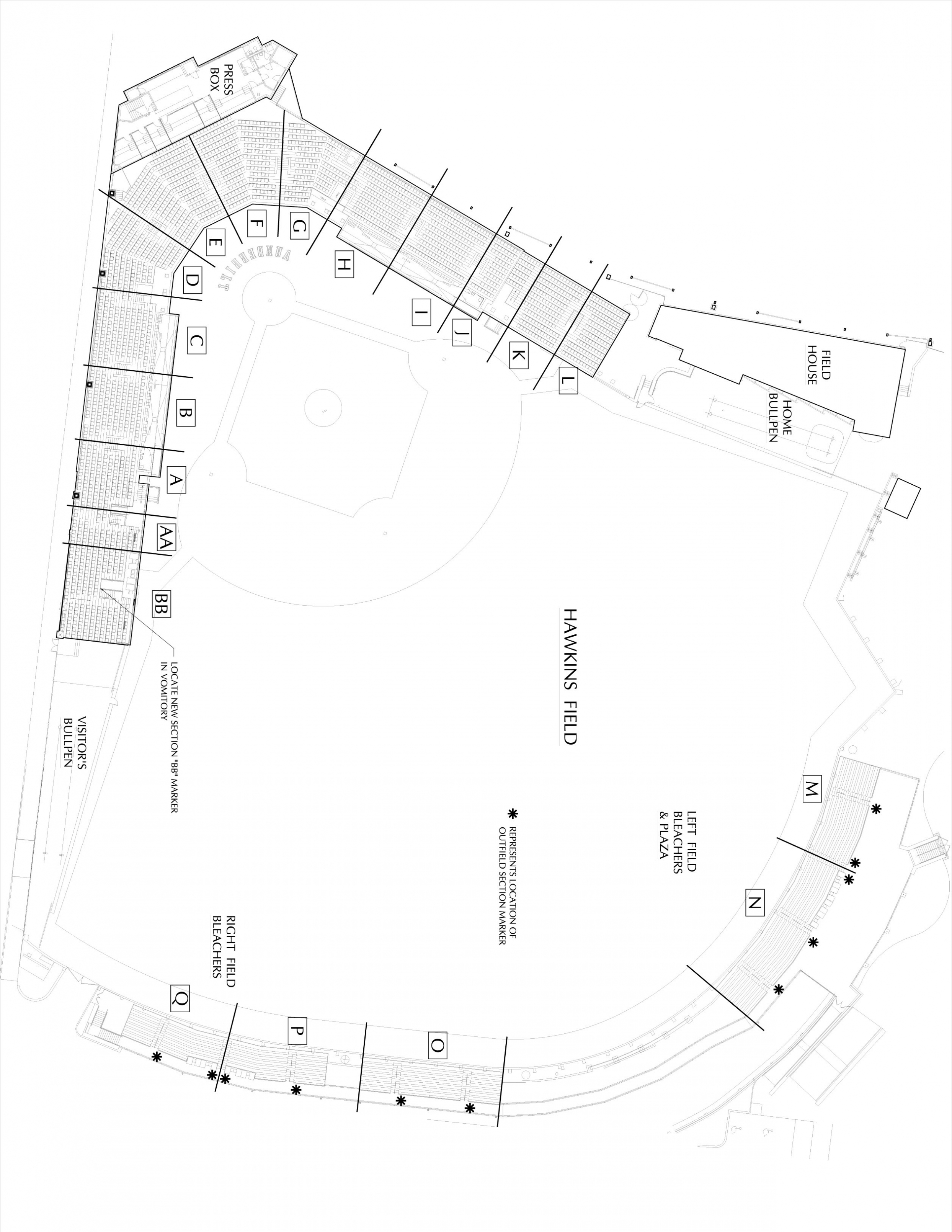 Baseball Field Diagram Baseball Field Drawing At Paintingvalley Explore Collection Of