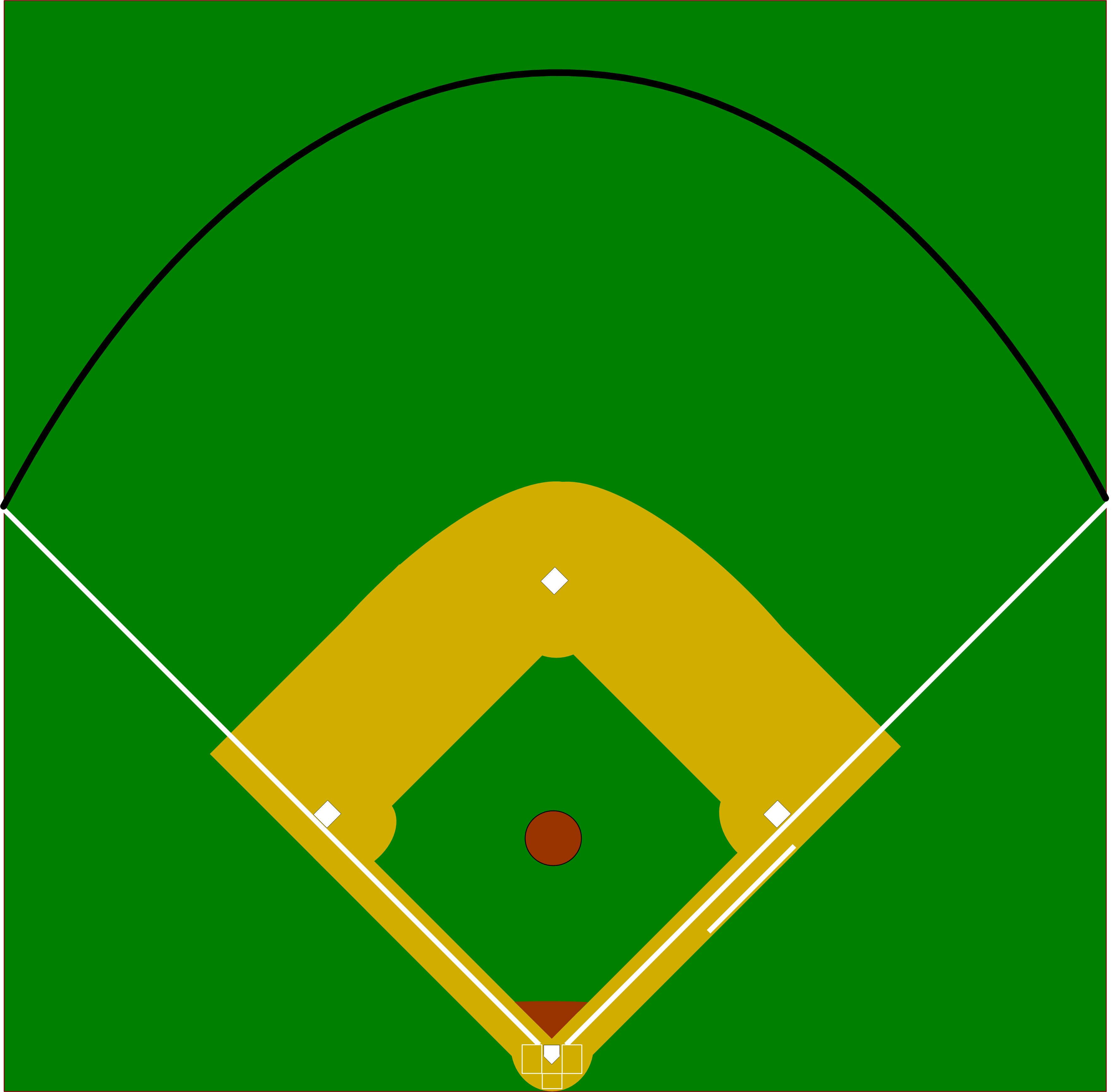Baseball Field Diagram Blank Baseball Field Diagram Group With 75 Items