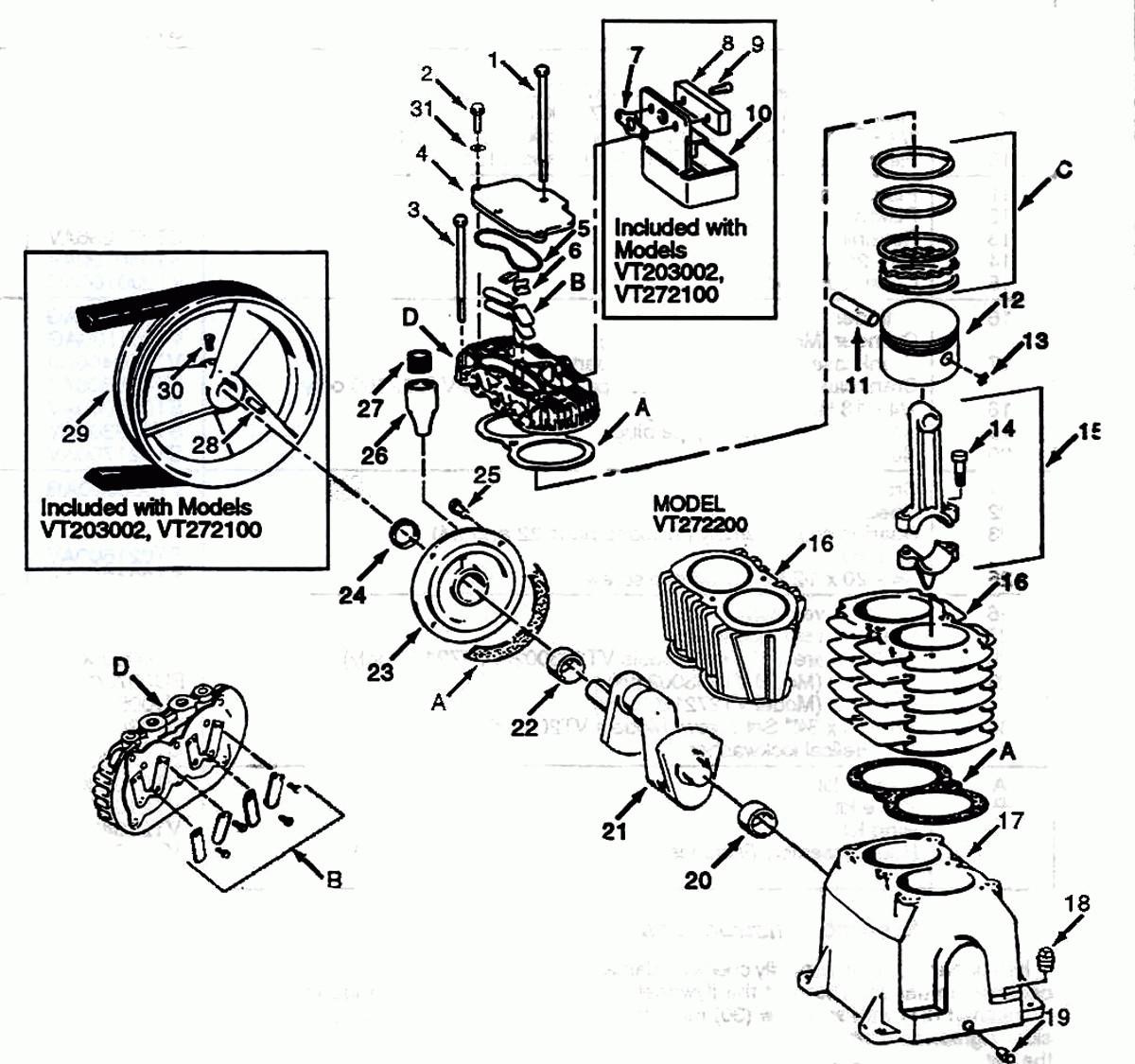 Campbell Hausfeld Air Compressor Parts Diagram 47 Ingersoll Rand Compressor Parts Diagram Ga5q Diagramalimb