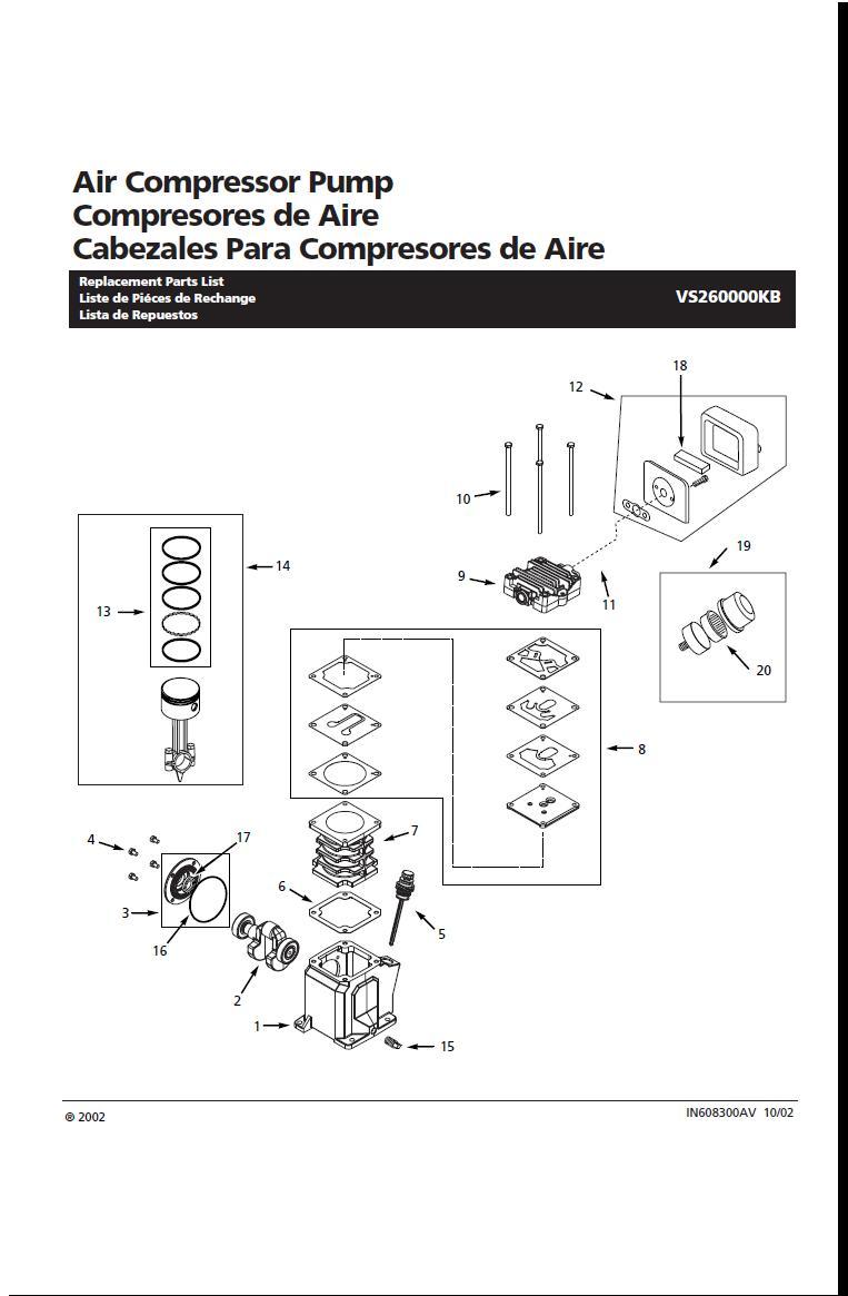 Campbell Hausfeld Air Compressor Parts Diagram Campbell Hausfeld Air Compressor Pump Parts