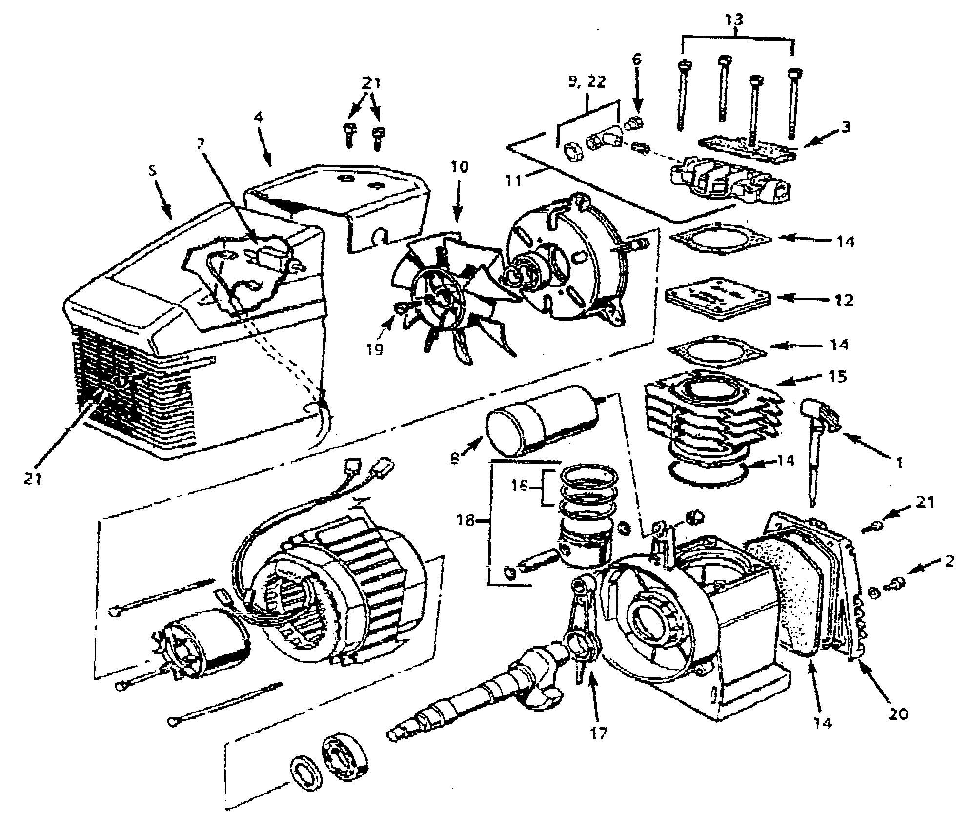 Campbell Hausfeld Air Compressor Parts Diagram Looking For Campbell Hausfeld Model Fp200000av Air Compressor Repair