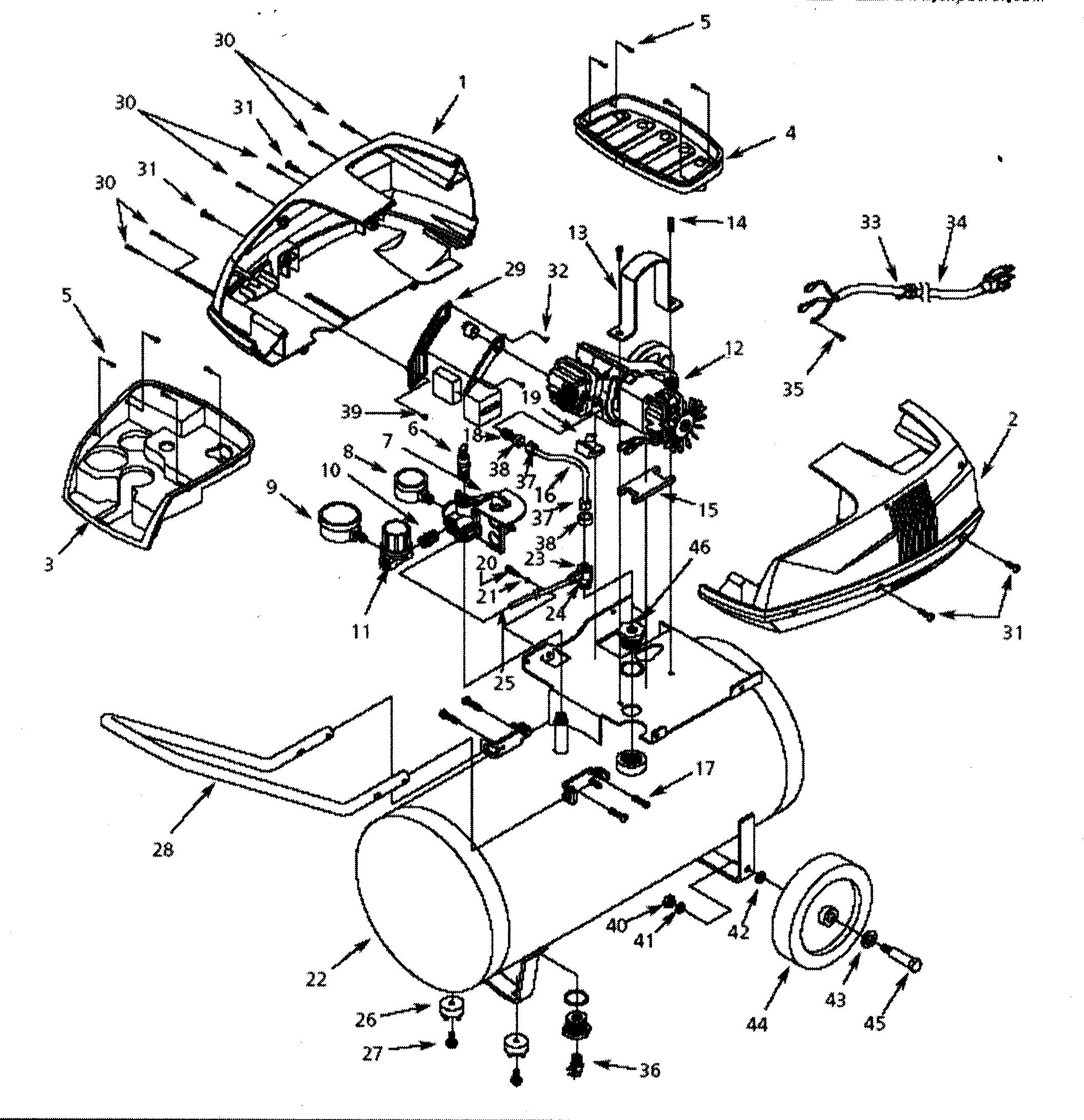 Campbell Hausfeld Air Compressor Parts Diagram Looking For Campbell Hausfeld Model Fp220700 Air Compressor Repair