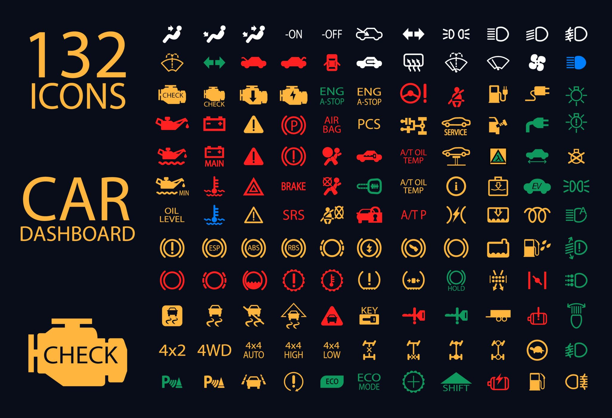 Car Dashboard Diagram If You See These Warning Lights On Your Car Dashboard Stop Your Car