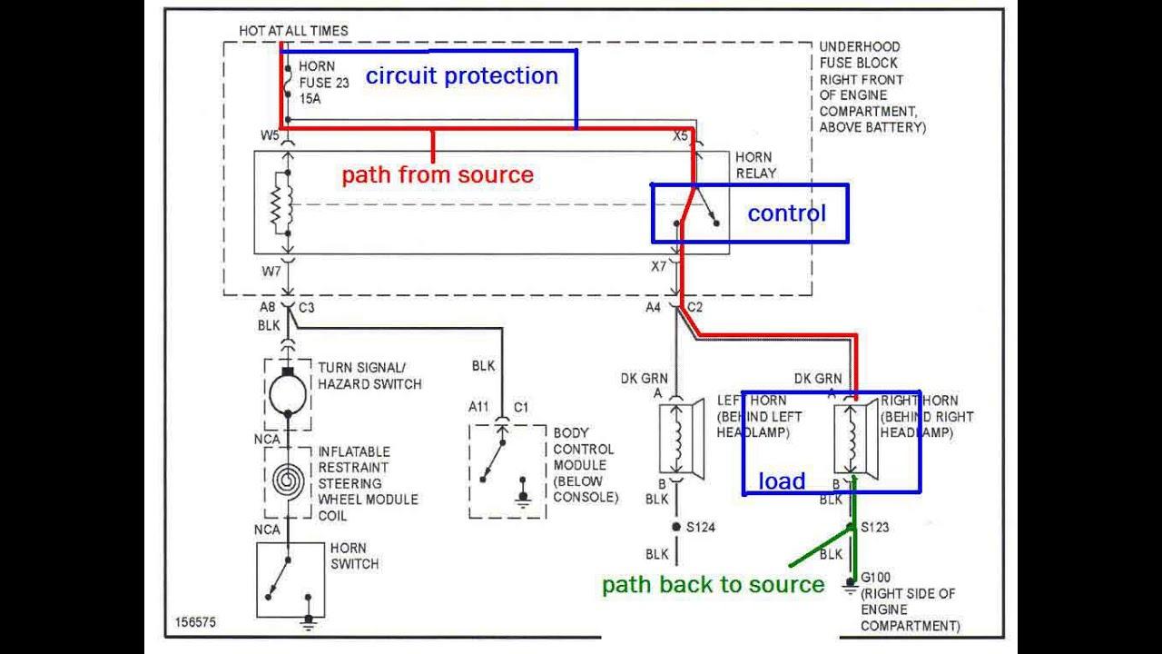 Car Dashboard Diagram Simple Car Body Diagram Typical Automotive Wiring Schema Wiring