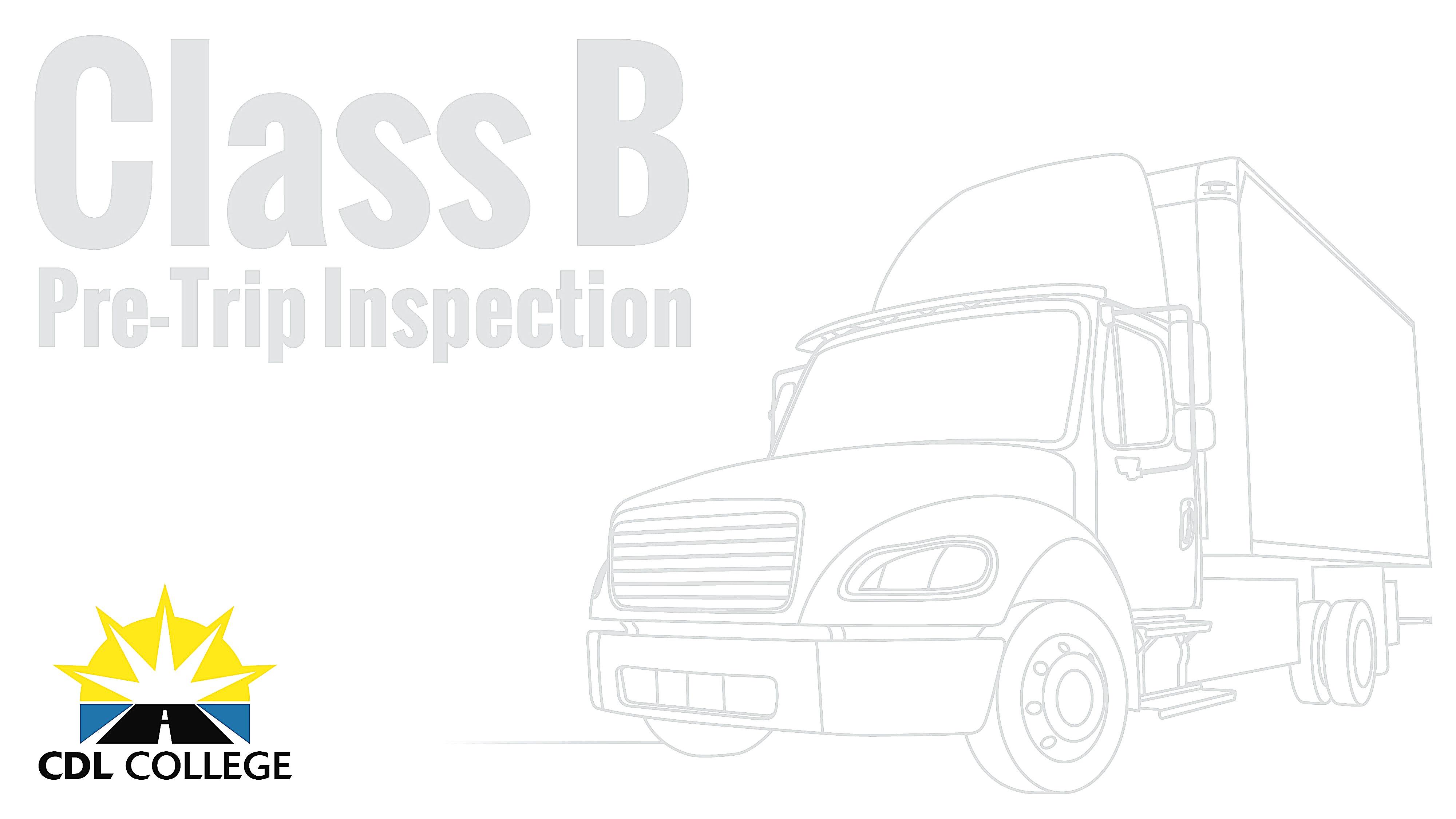 Cdl Pre Trip Inspection Diagram Cdl Pre Trip Inspection Diagram Cdl Pre Trip Inspection Diagram