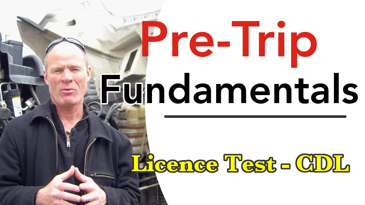 Cdl Pre Trip Inspection Diagram How To Pass Cdl Pre Trip Inspection