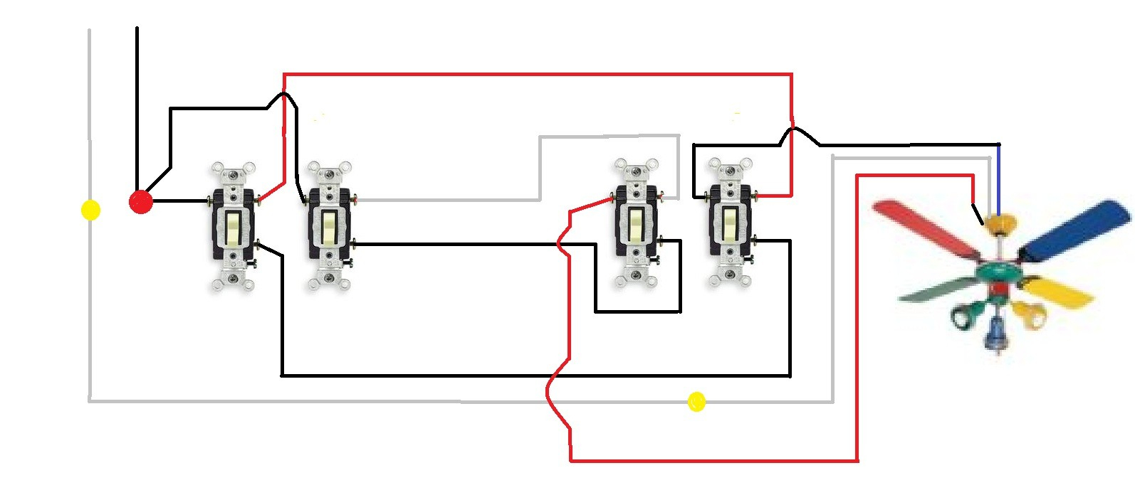 Ceiling Fan Wiring Diagram 3 Way Switch Fan Light Diagram Today Diagram Database
