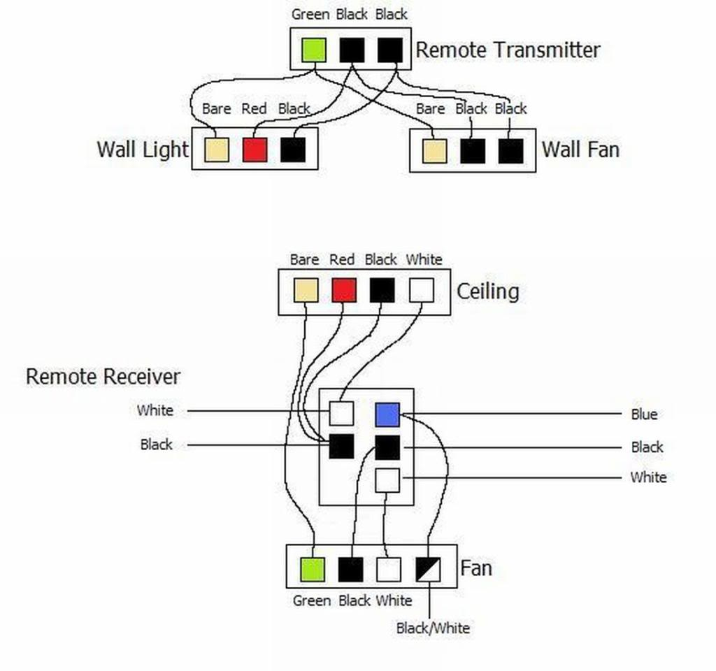 Ceiling Fan Wiring Diagram Am Wiring A Hunter Remote 27185 To Our Hunter Ceiling Light Board