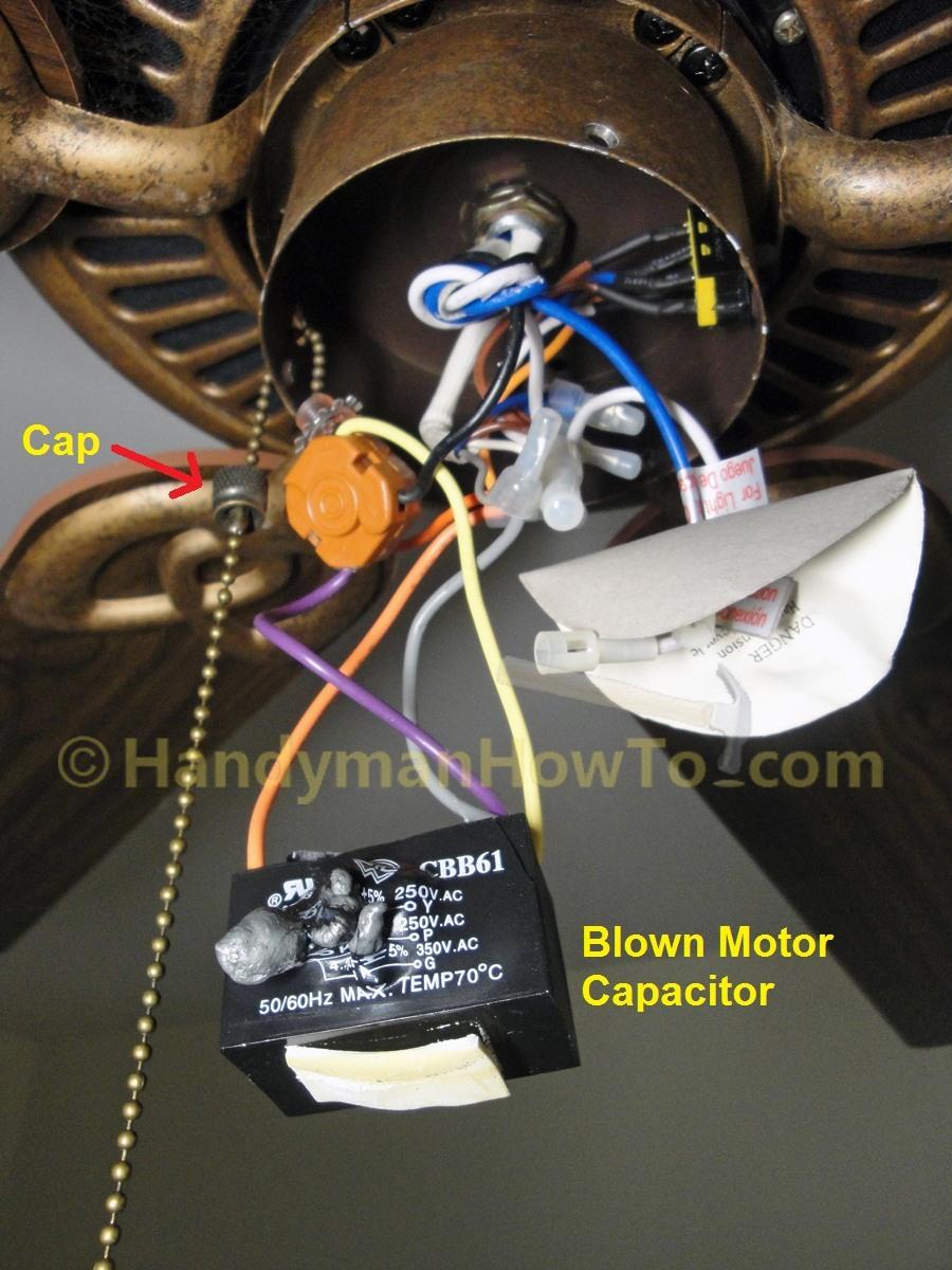 Ceiling Fan Wiring Diagram Hampton Bay Cbb61 Fan Capacitor Wire Diagram Today Diagram Database