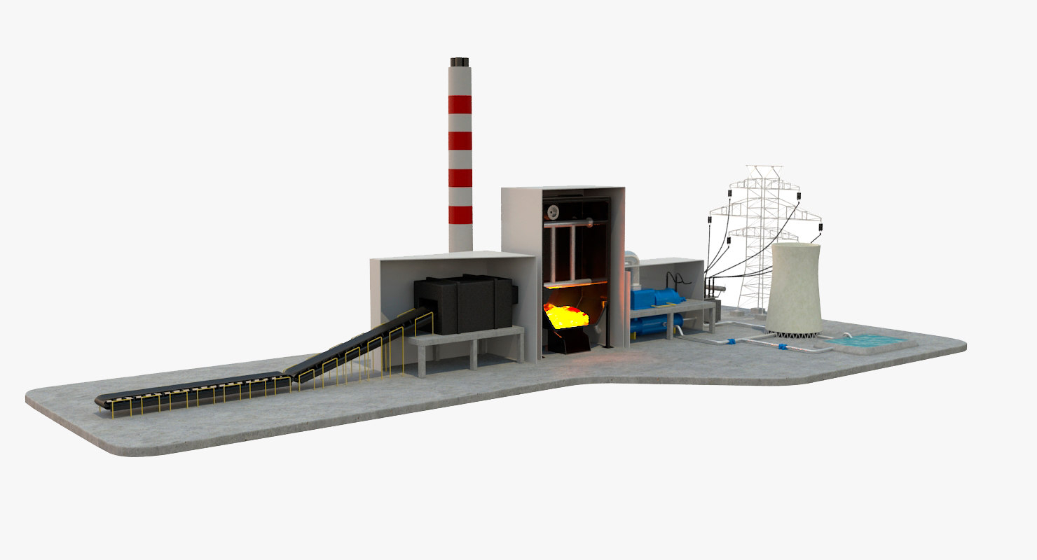 Coal Power Plant Diagram Coal Power Station Diagram
